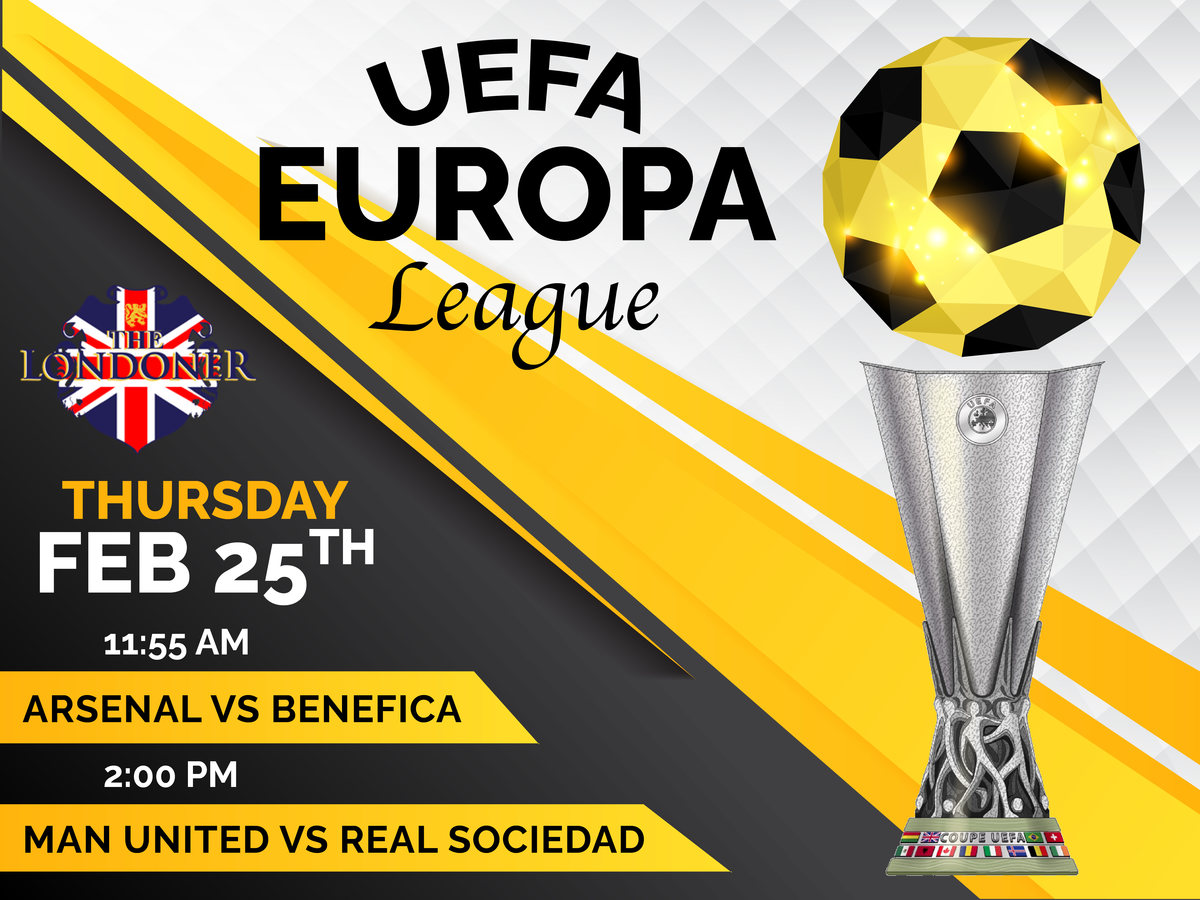 The Londoner Colleyville Live Europa League Feb 25 2021