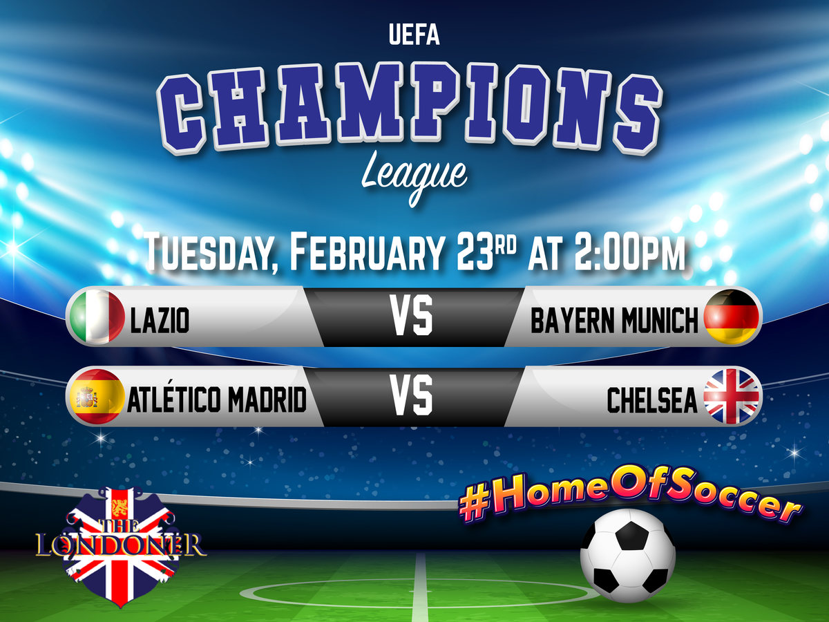 The Londoner Colleyville Live Champions League Feb 23 2021