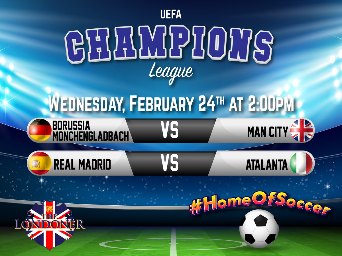 The Londoner Colleyville Live Champions League Feb 24 2021