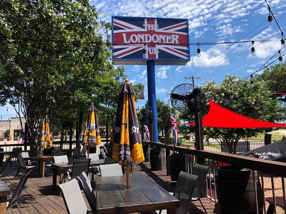 The Londoner Colleyville patio