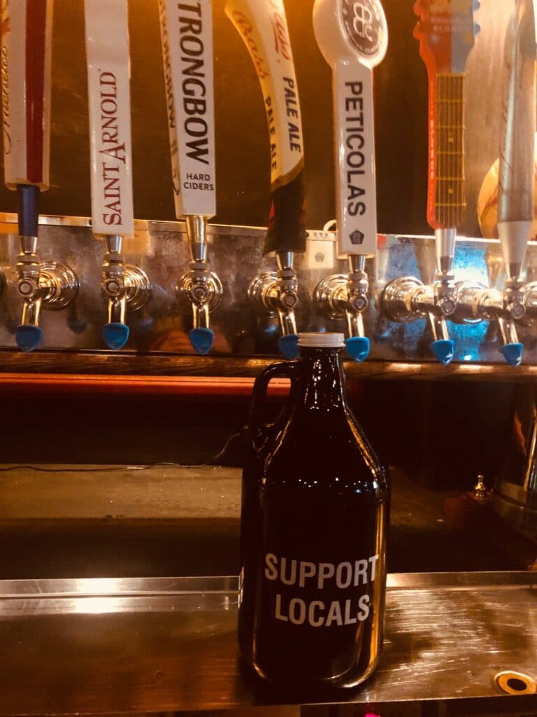 The Londoner Colleyville Support Local Growler