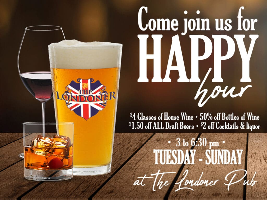 The Londoner Colleyville Happy Hour