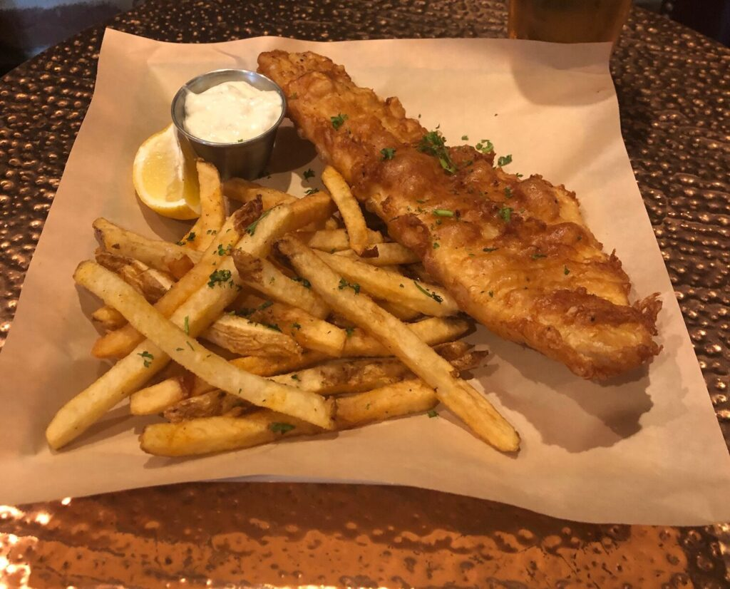 The Londoner Colleyville Haddock & Chips