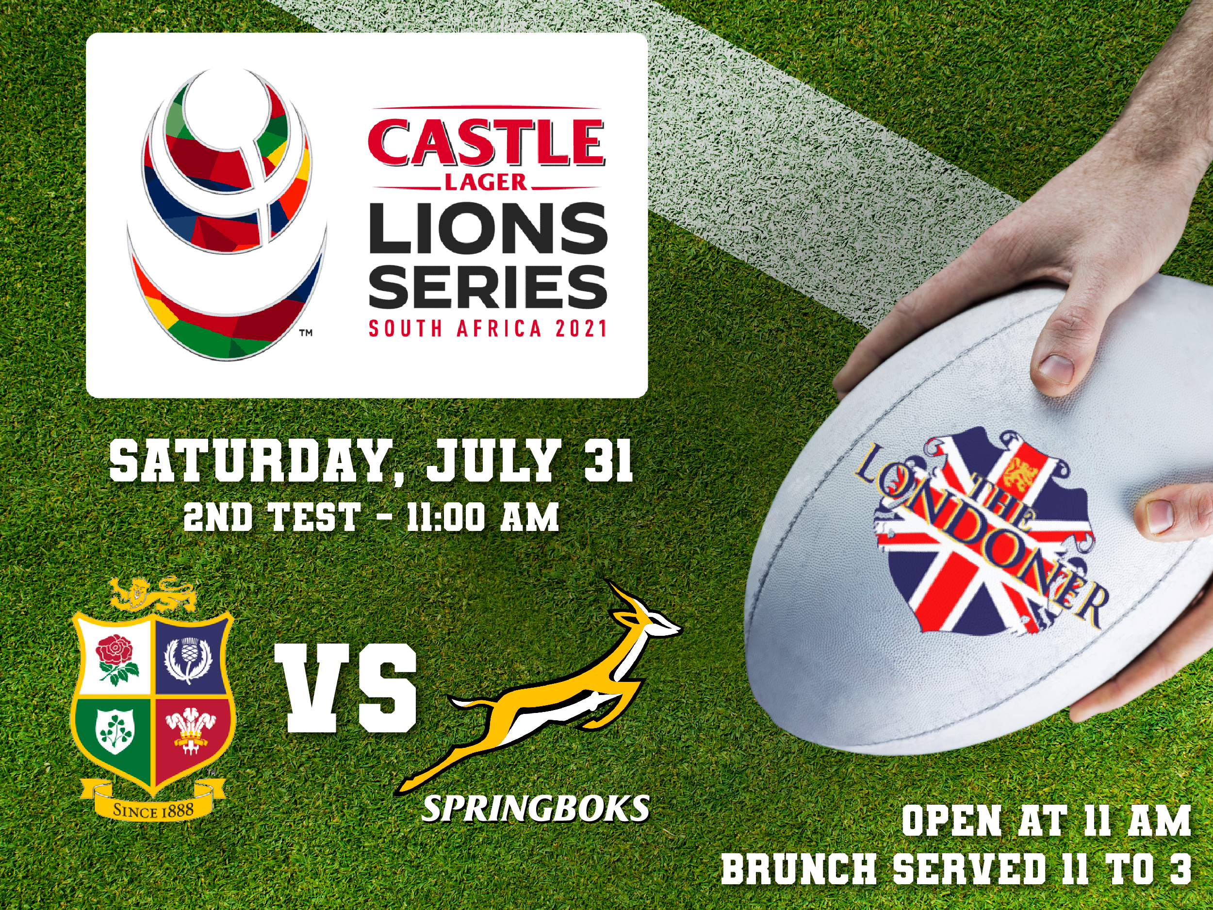 The Londoner Colleyville British & Irish Lions Rugby July 31 2021
