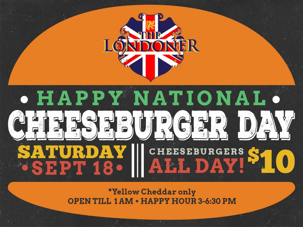 The Londoner Colleyville Cheeseburger Day 2021